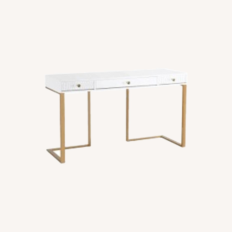 TOV Furniture Janie Lacquer Desk - image-0