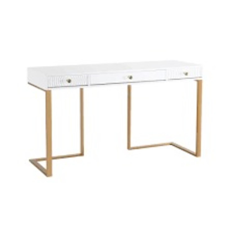 TOV Furniture Janie Lacquer Desk - image-2