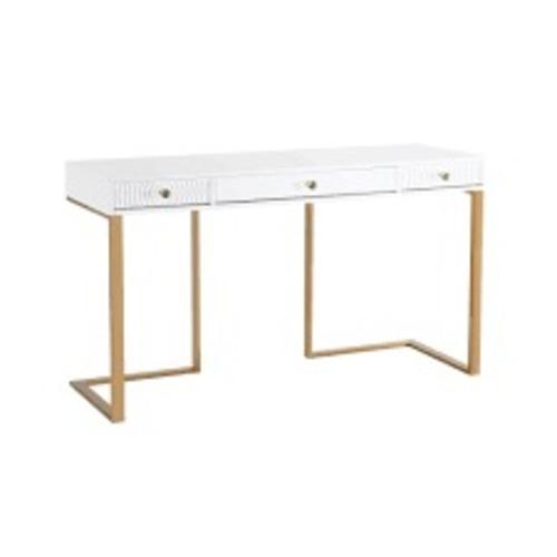 Used TOV Furniture Janie Lacquer Desk for sale on AptDeco