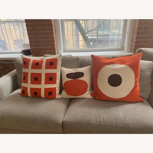 Used Jonathan Adler Reversible Pillow Set 3 for sale on AptDeco