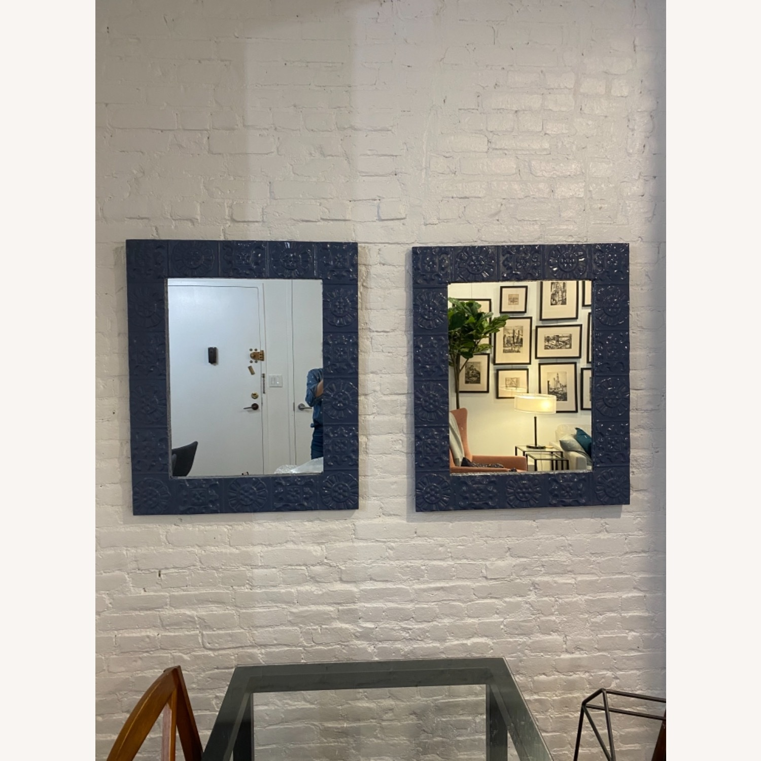 Pair of Large Mirrors - image-1