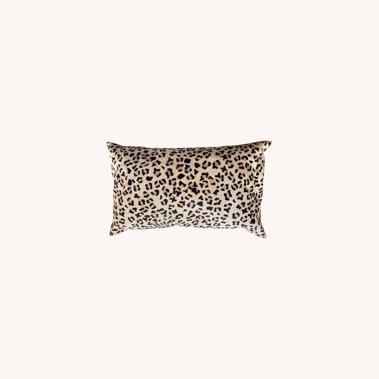 Pottery Barn Ken Fulk Cheetah-Printed Hide Pillow Cover - image-0