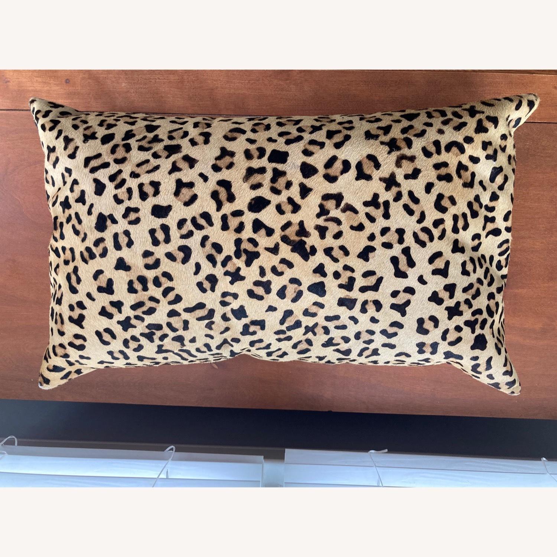 Pottery Barn Ken Fulk Cheetah-Printed Hide Pillow Cover - image-1