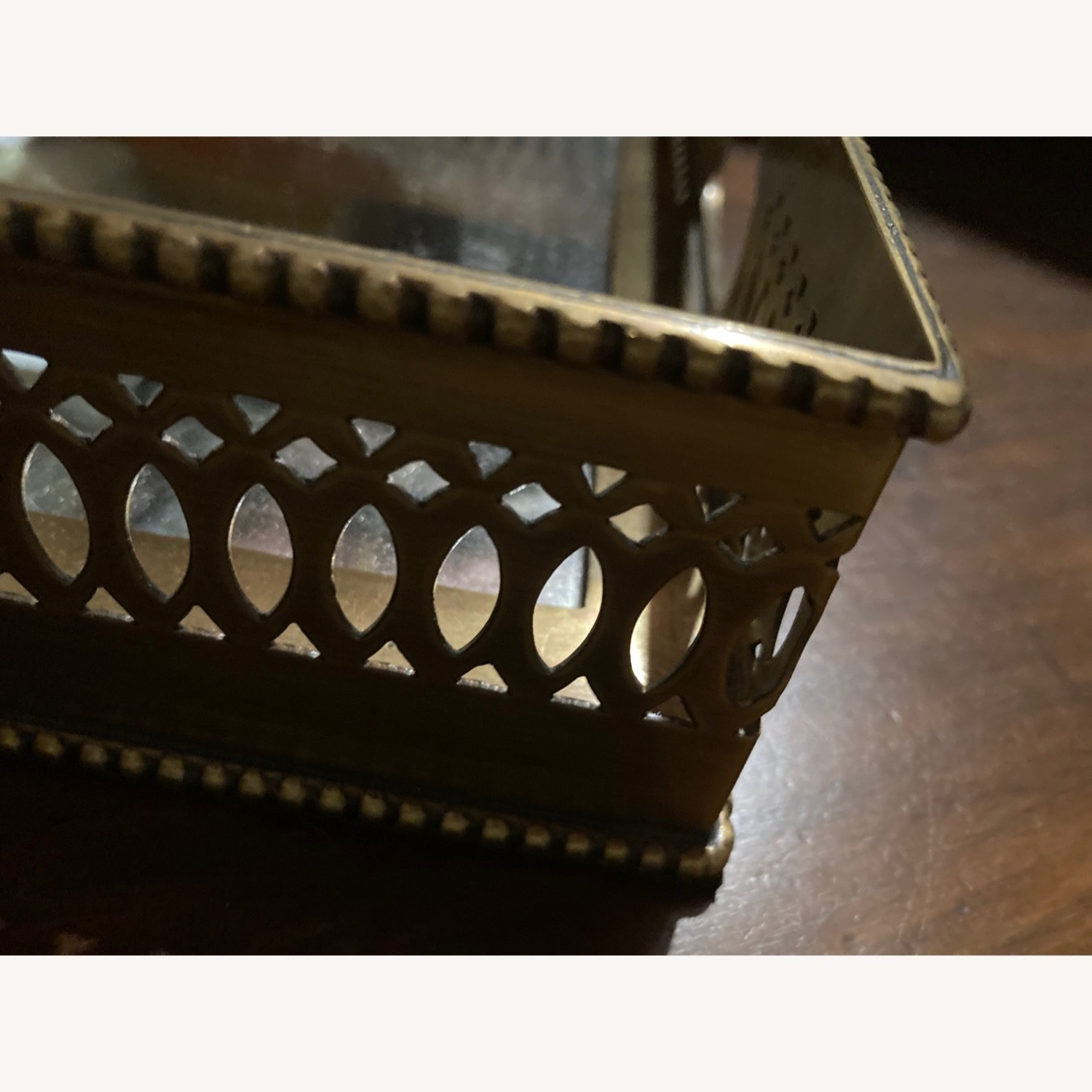 Ethan Allen Traditional Brass Tray - image-2
