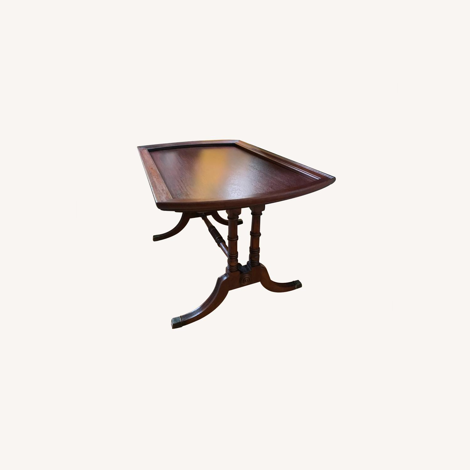 Antique Mahogany Side Table - image-0