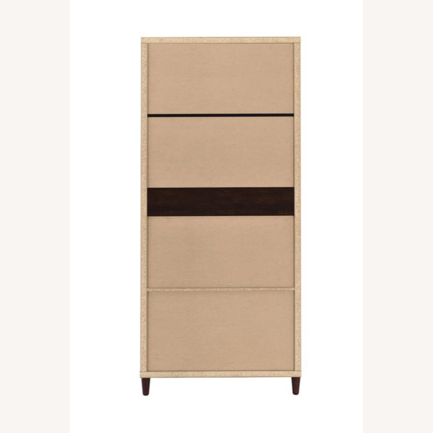 Accent Cabinet In Rich Rustic Tobacco Finish - image-3