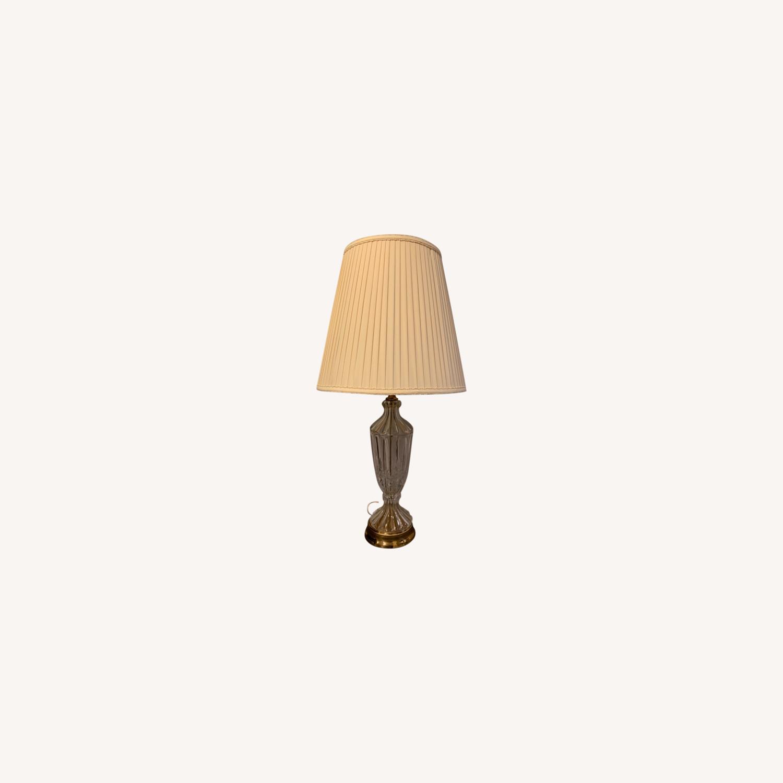 Lead Crystal Table Lamp - image-10