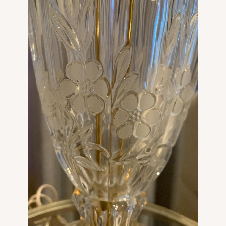 Lead Crystal Table Lamp - image-1