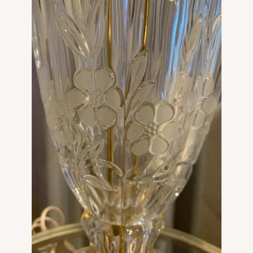 Used Lead Crystal Table Lamp for sale on AptDeco
