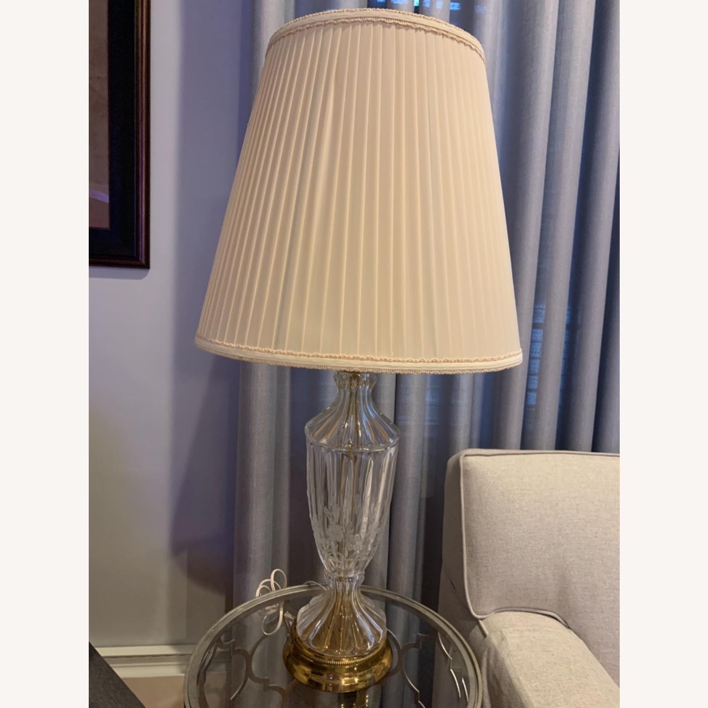 Lead Crystal Table Lamp - image-0