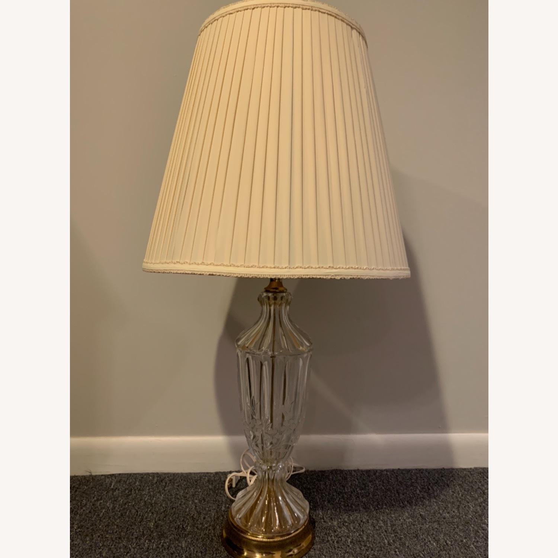 Lead Crystal Table Lamp - image-6