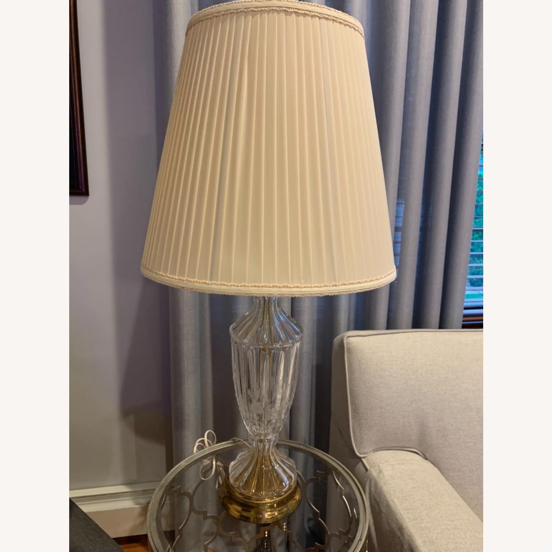 Lead Crystal Table Lamp - image-5