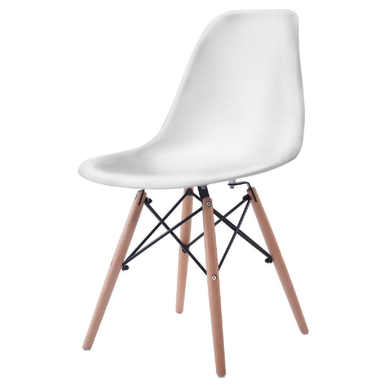 Mid Century Modern Dining Chair Wood Leg - image-5