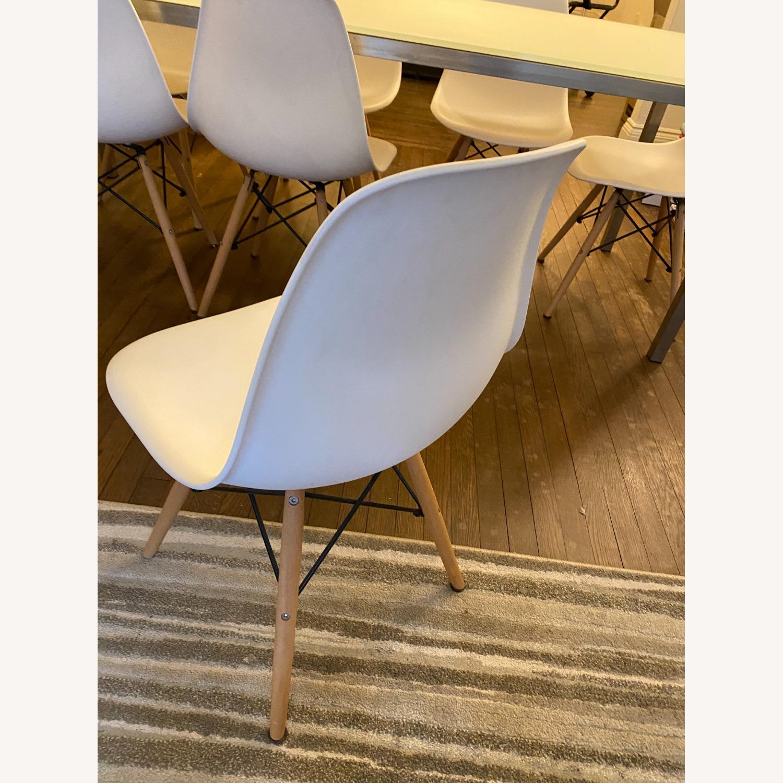 Mid Century Modern Dining Chair Wood Leg - image-4