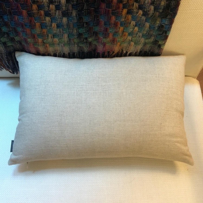 Ankasa Natural Linen & Gold Decorative Pillow - image-4