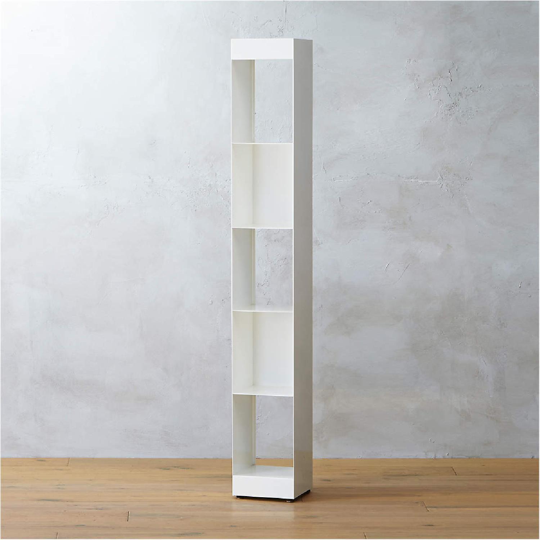 CB2 White Metal Bookcases Modern - image-4