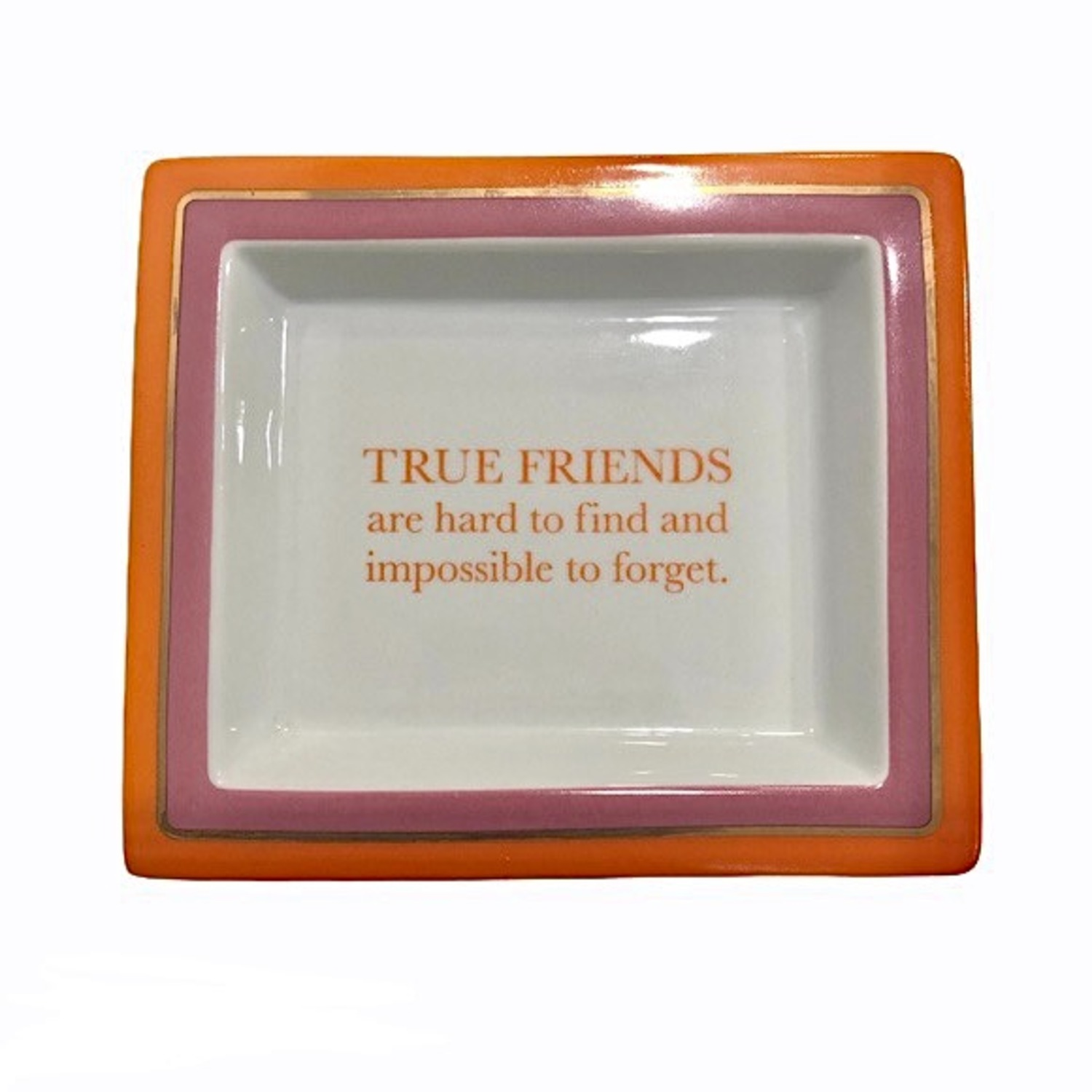 Two's Company Wise Sayings Trinket Tray - image-1