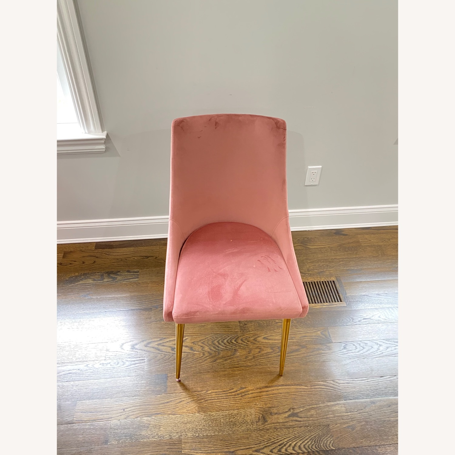 Modway Midcentury Velvet Dining Chairs Dusty Rose - image-4