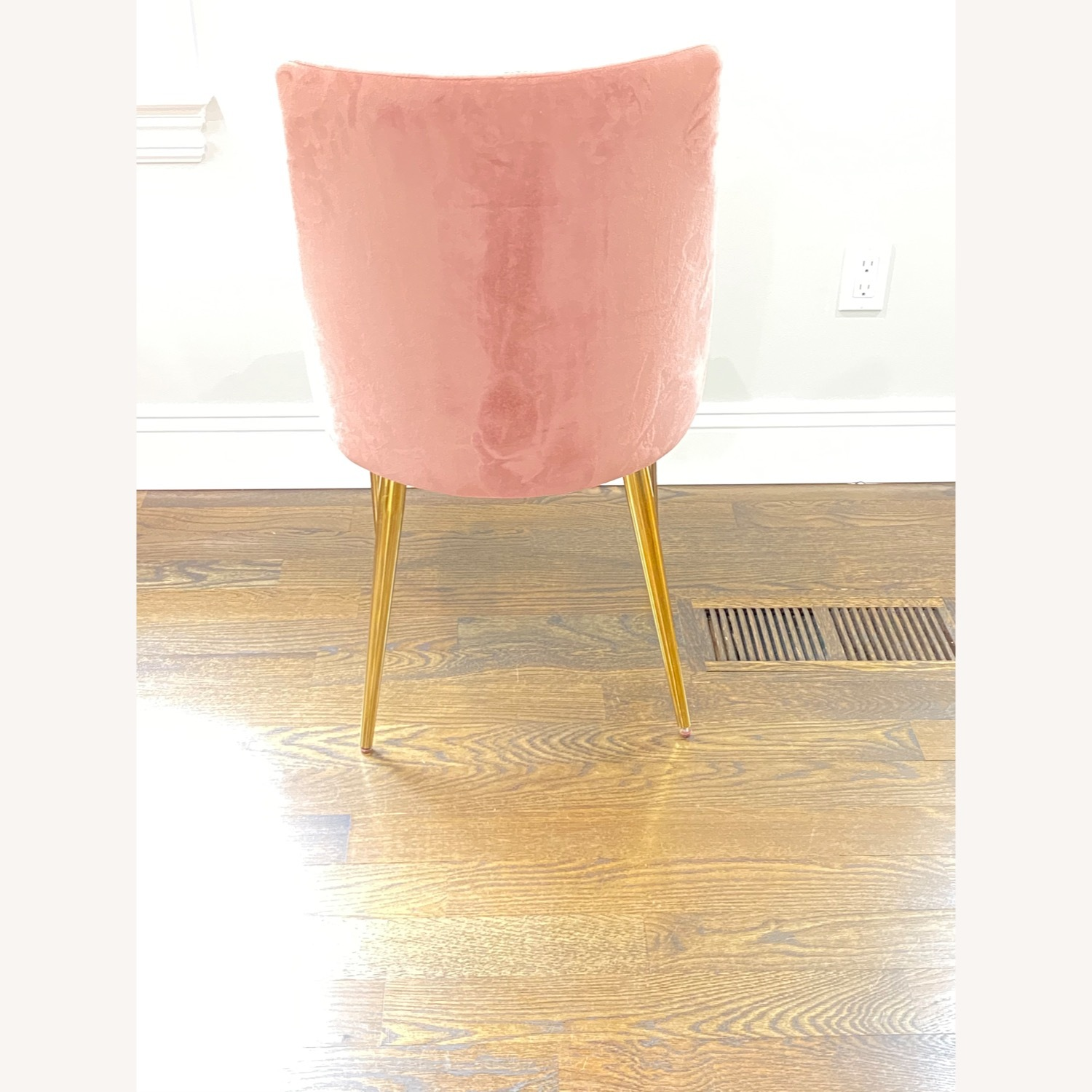 Modway Midcentury Velvet Dining Chairs Dusty Rose - image-5