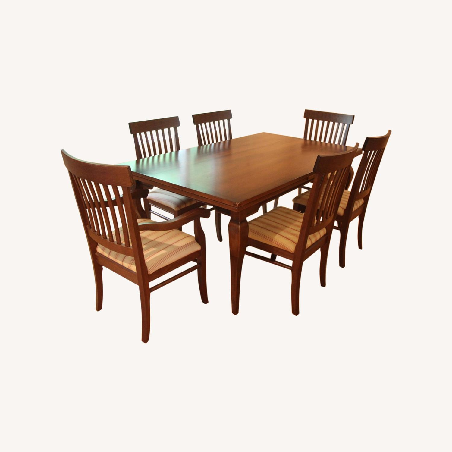 Arhaus Maple Dining Table and Chairs - image-0