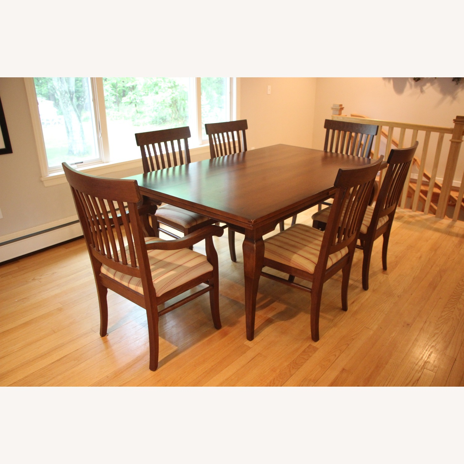 Arhaus Maple Dining Table and Chairs - image-3