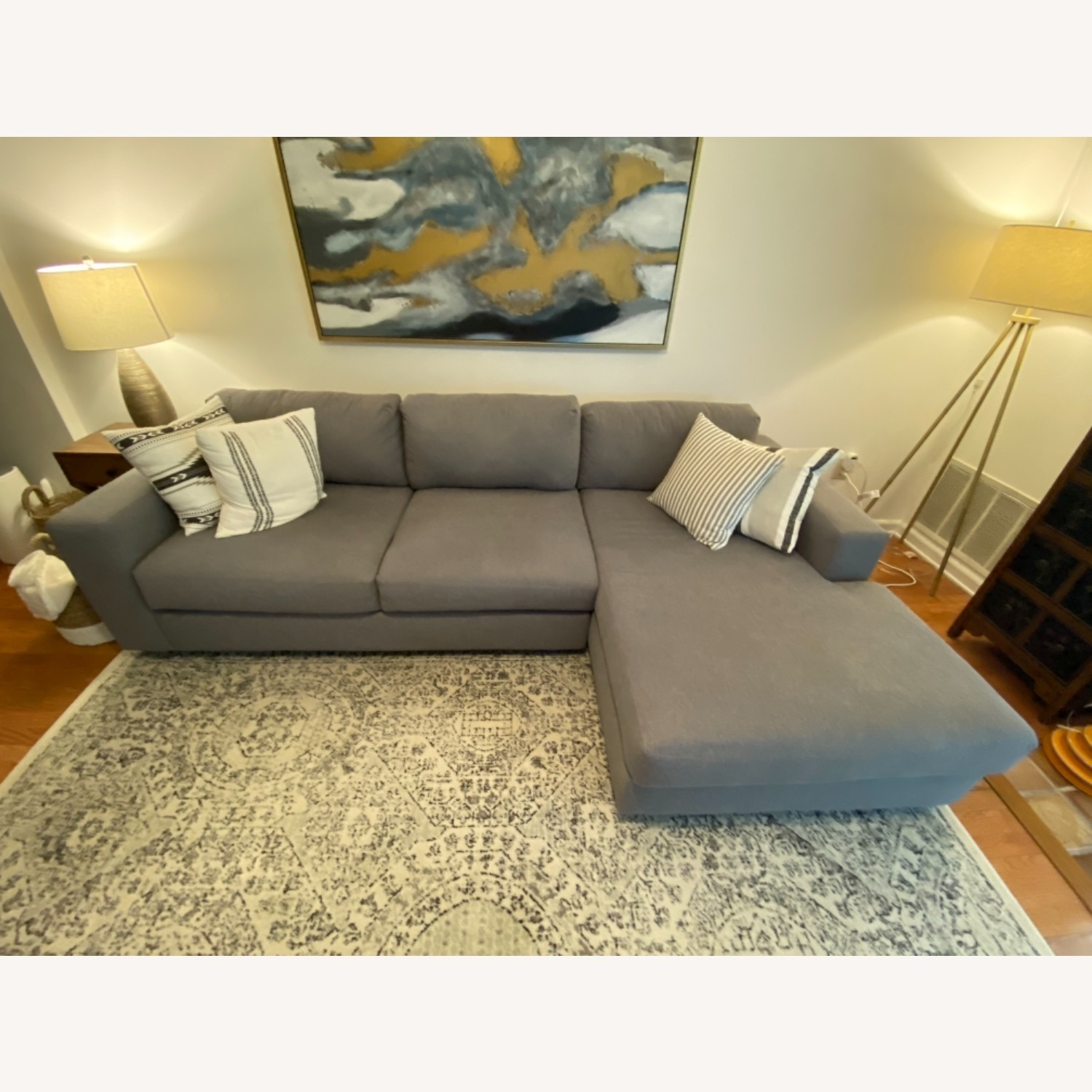 West Elm Urban Chaise Sectional - image-4