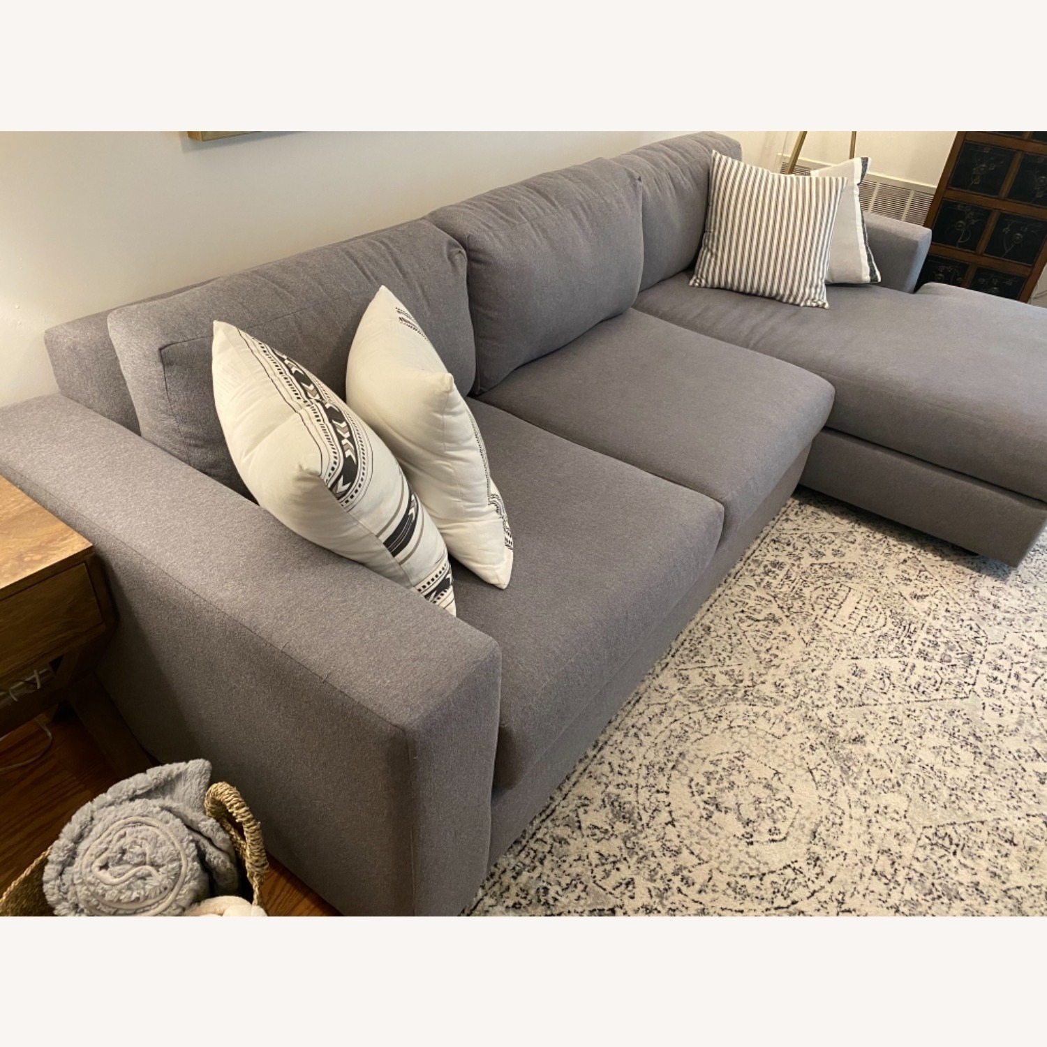 West Elm Urban Chaise Sectional - image-5
