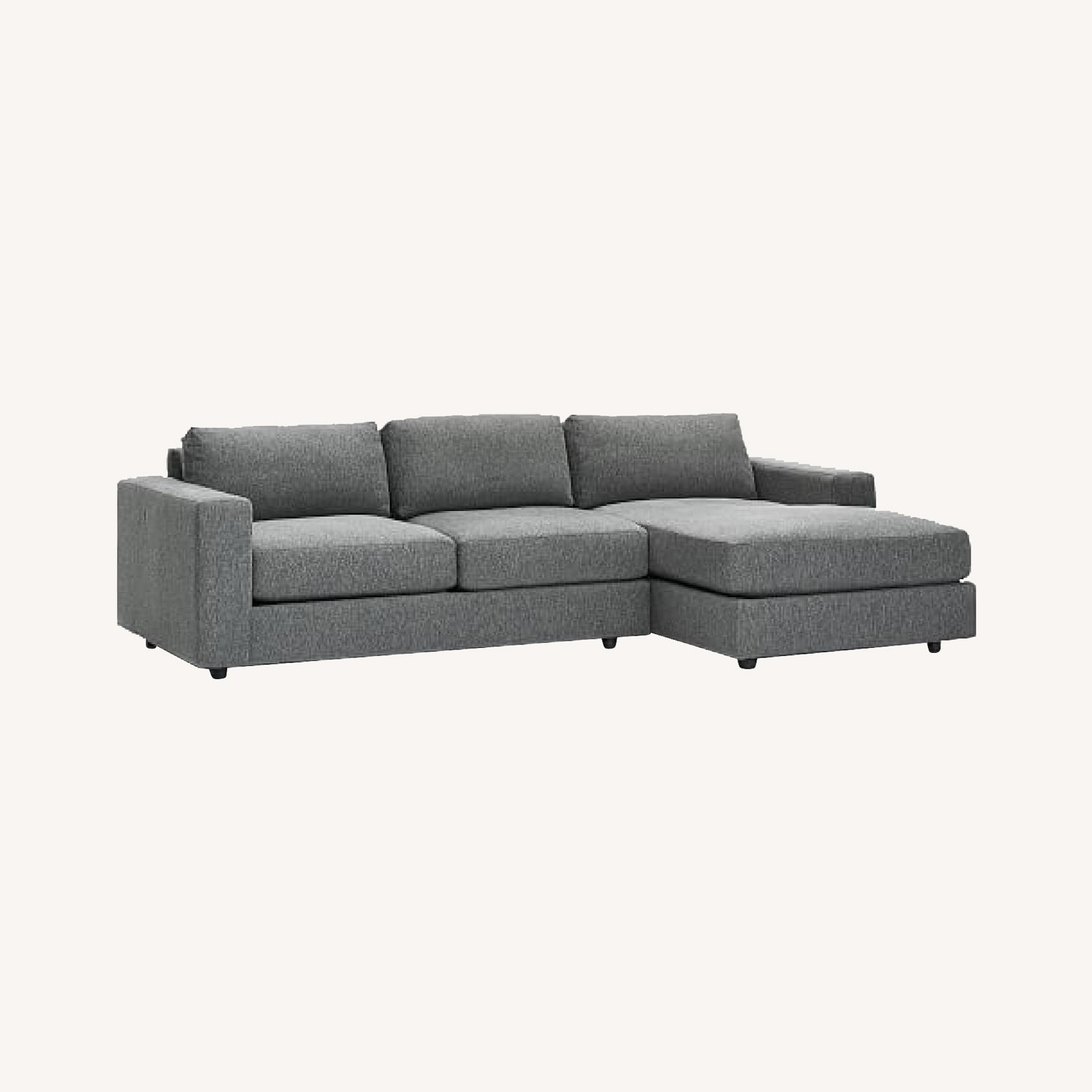 West Elm Urban Chaise Sectional - image-0