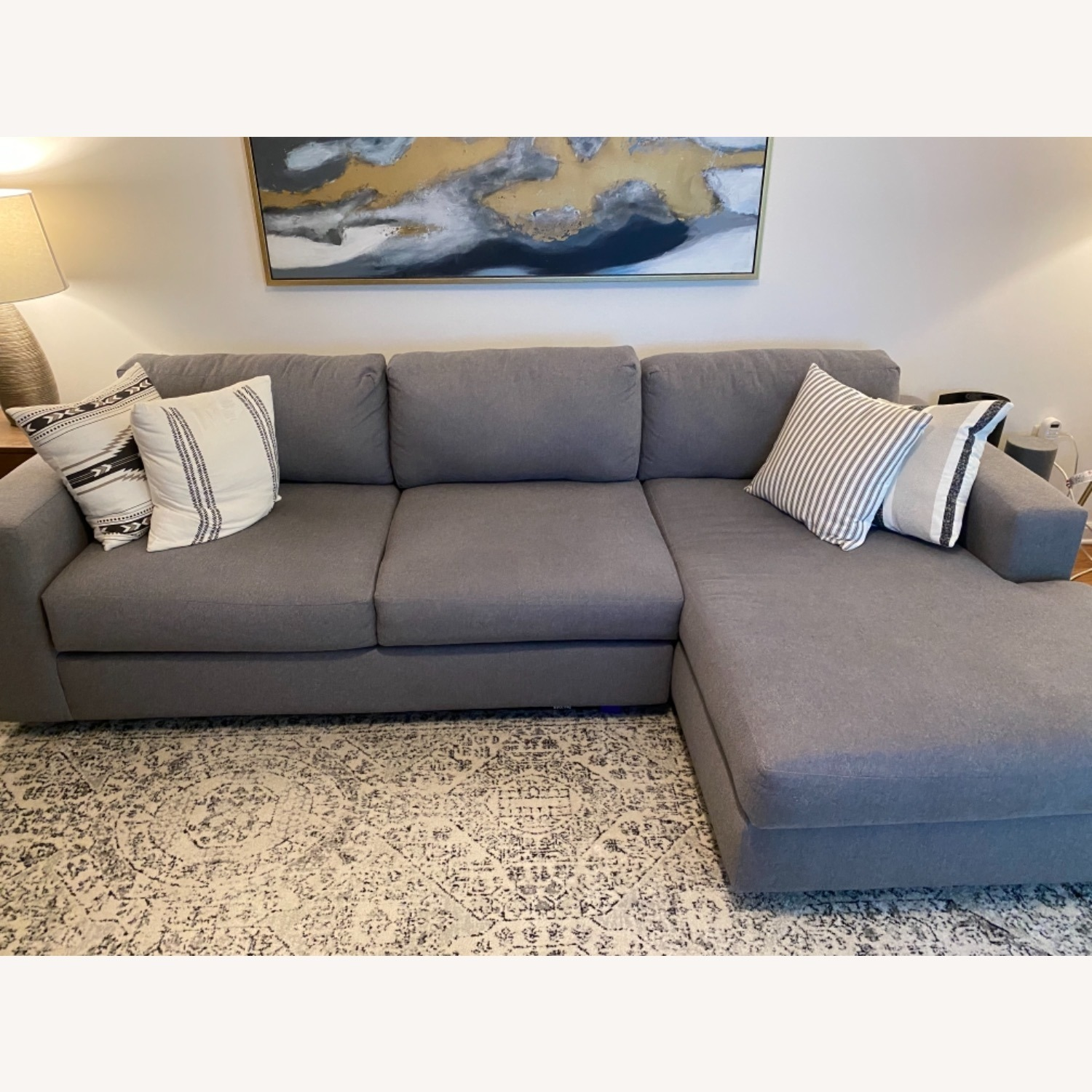 West Elm Urban Chaise Sectional - image-1