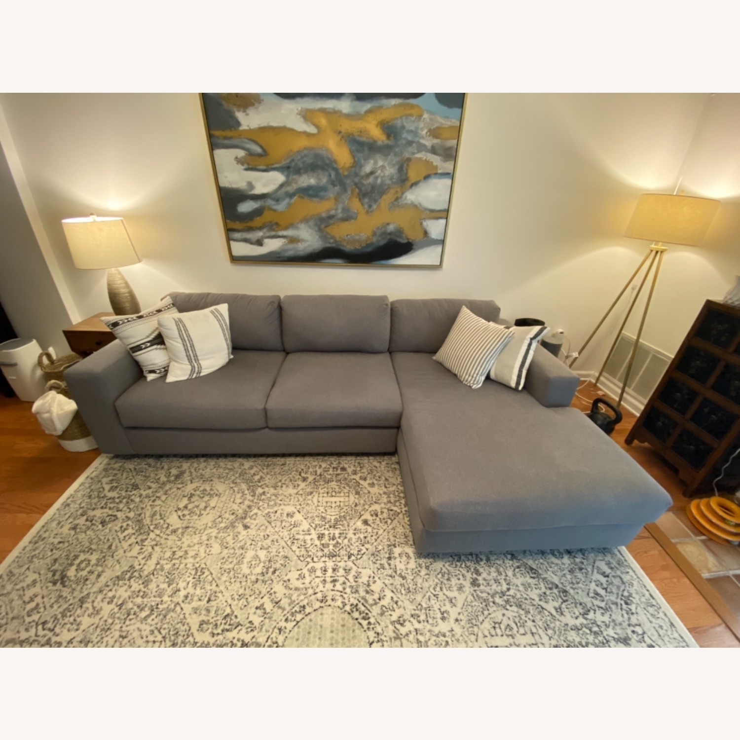 West Elm Urban Chaise Sectional - image-7