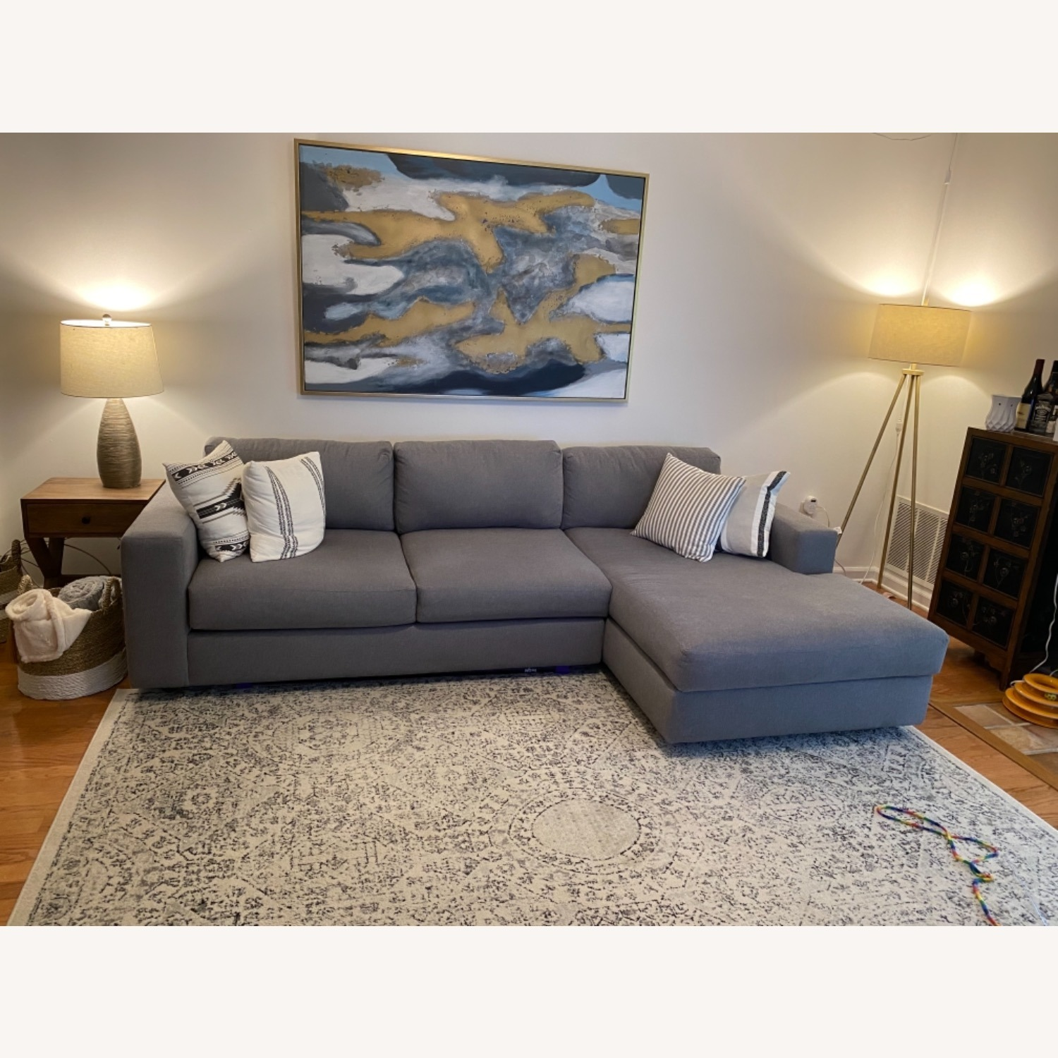West Elm Urban Chaise Sectional - image-3