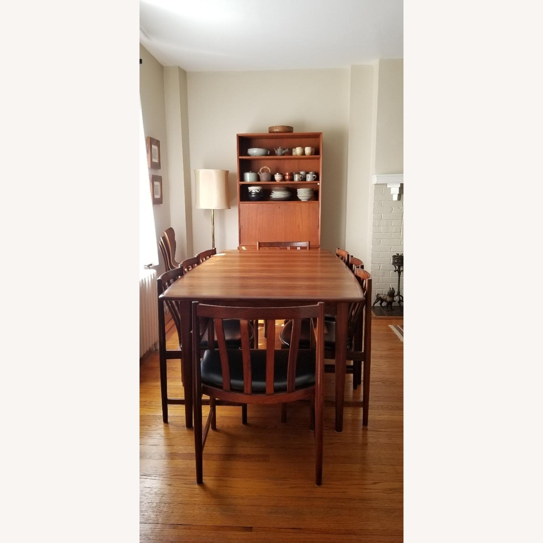 Danish Mid-Century Rosewood Dining Suite - image-26