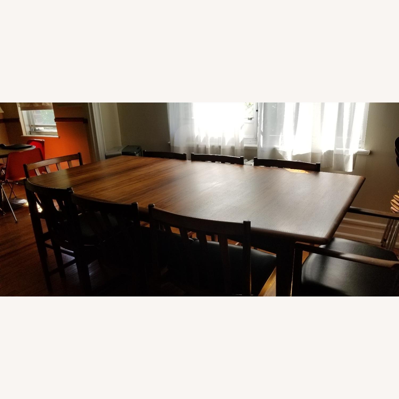 Danish Mid-Century Rosewood Dining Suite - image-24