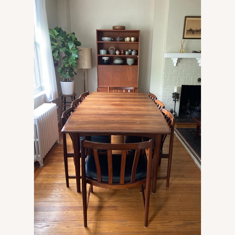 Danish Mid-Century Rosewood Dining Suite - image-1