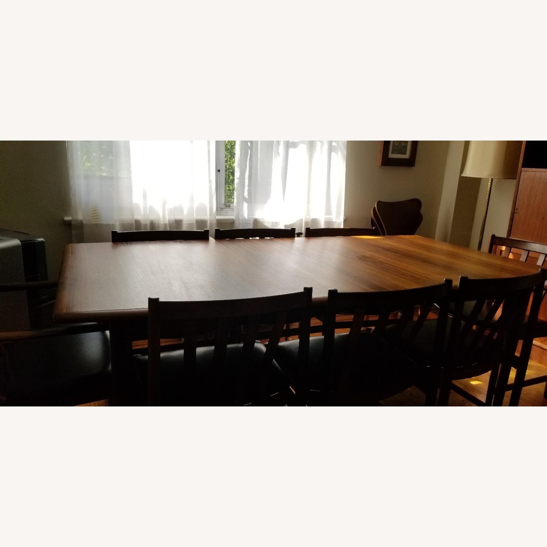 Danish Mid-Century Rosewood Dining Suite - image-23
