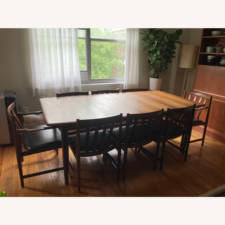 Danish Mid-Century Rosewood Dining Suite - image-2