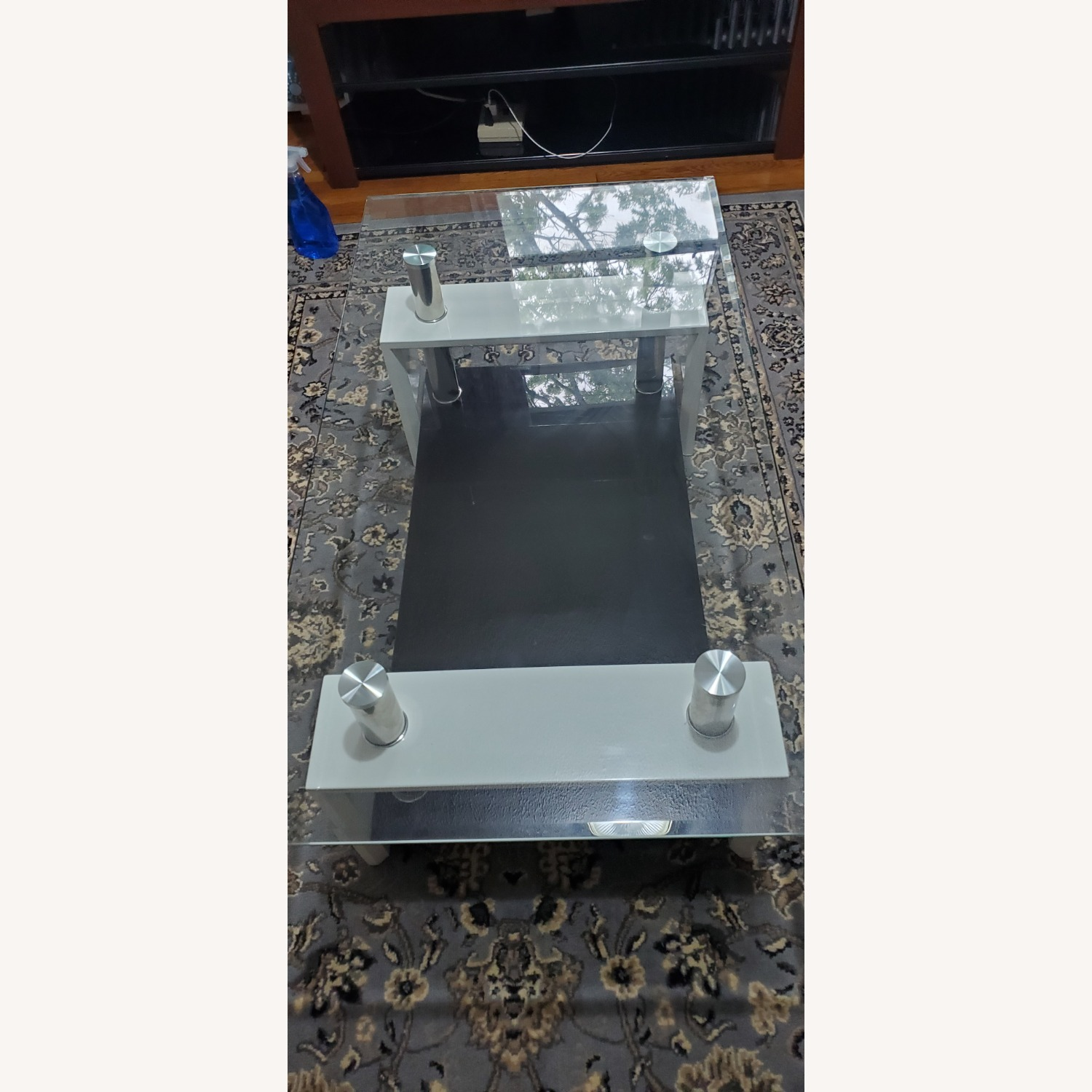 Black and White Coffee Table - image-3
