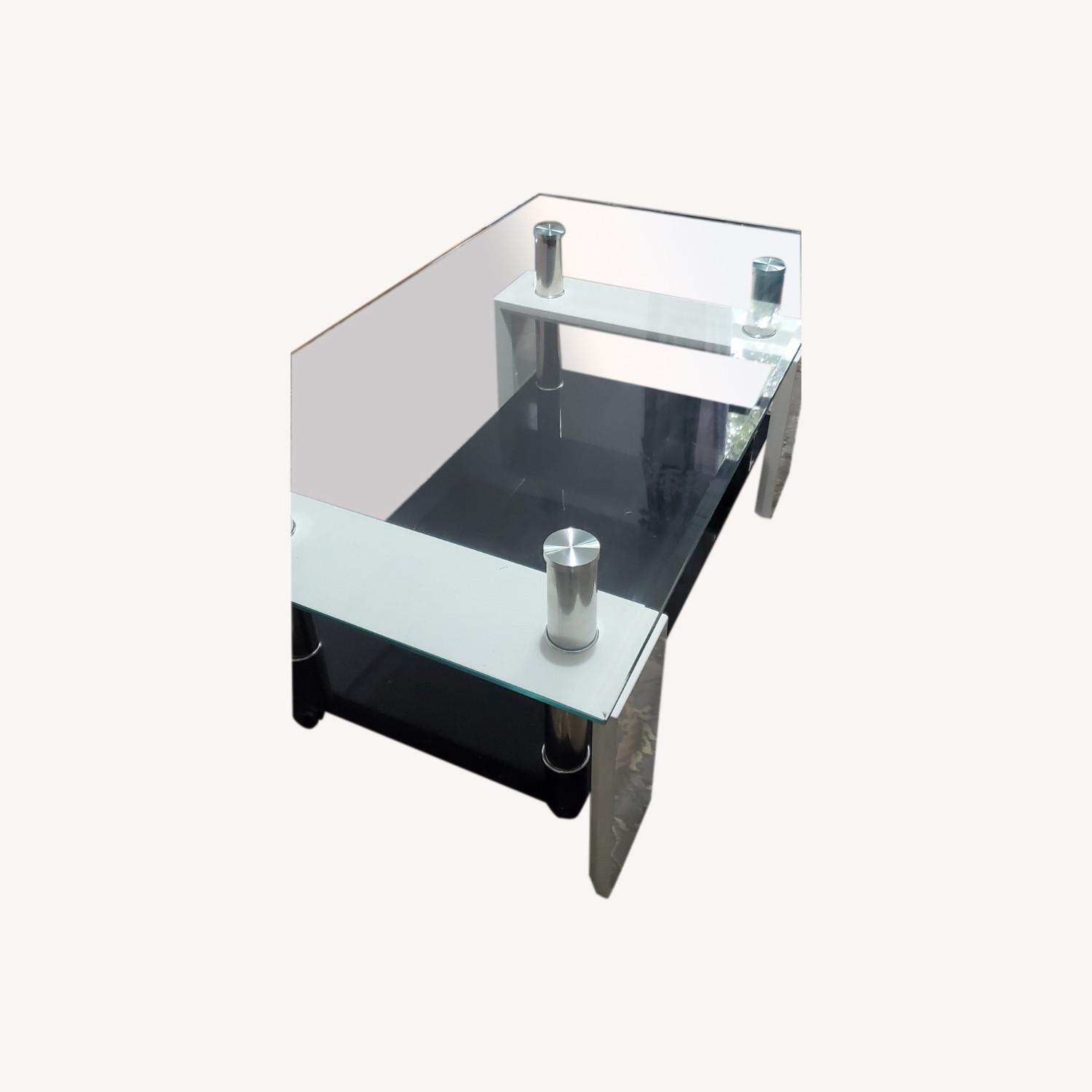 Black and White Coffee Table - image-0