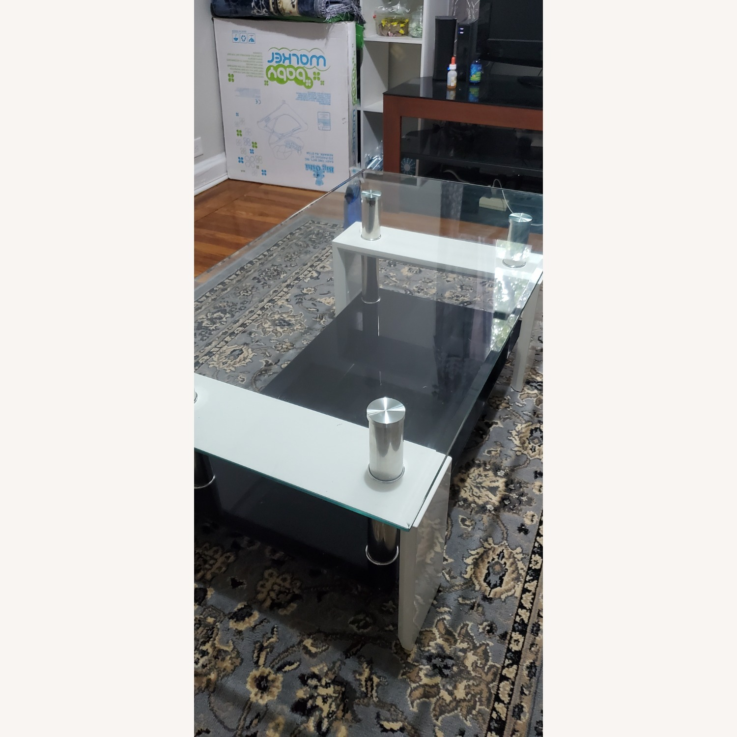 Black and White Coffee Table - image-2