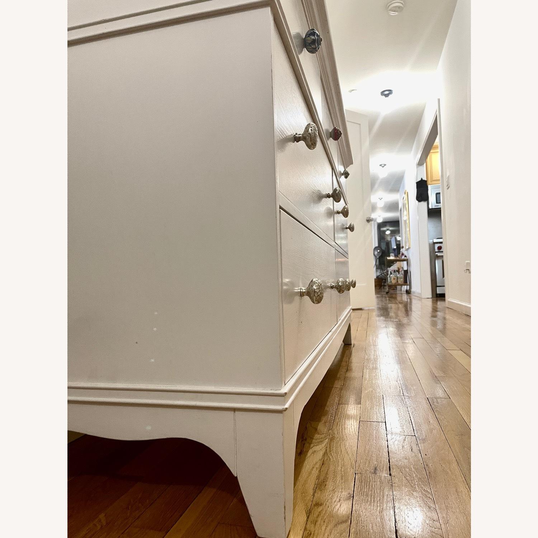 White Dresser with Unique Knobs - image-5