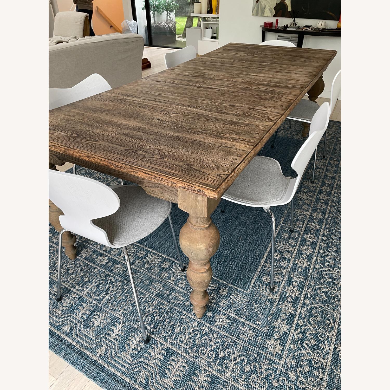 Restoration Hardware Grand Baluster Dining Table - image-1