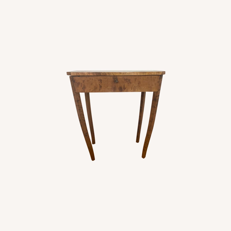 Antique Biedermeier Small Table - image-0