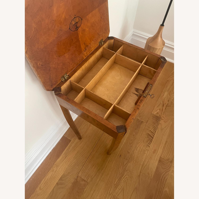 Antique Biedermeier Small Table - image-5