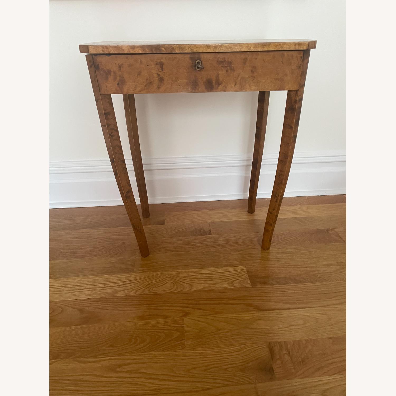 Antique Biedermeier Small Table - image-3