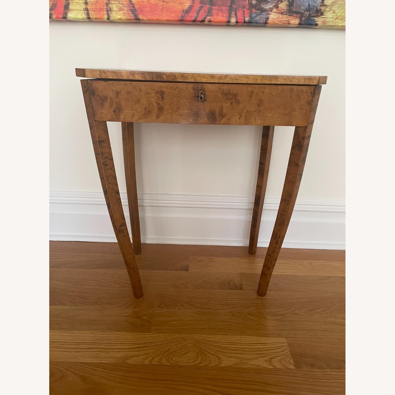 Antique Biedermeier Small Table - image-1