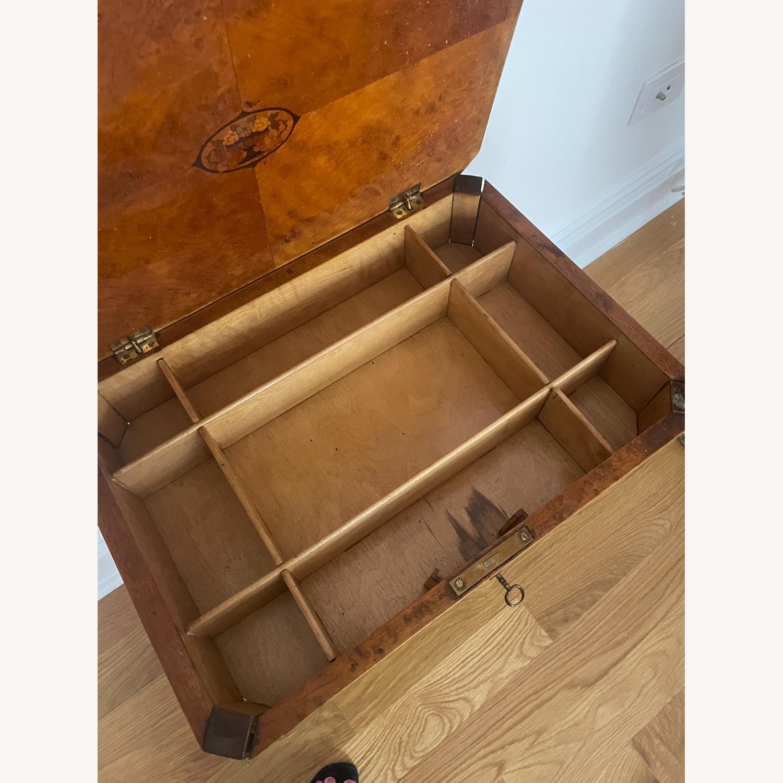Antique Biedermeier Small Table - image-4