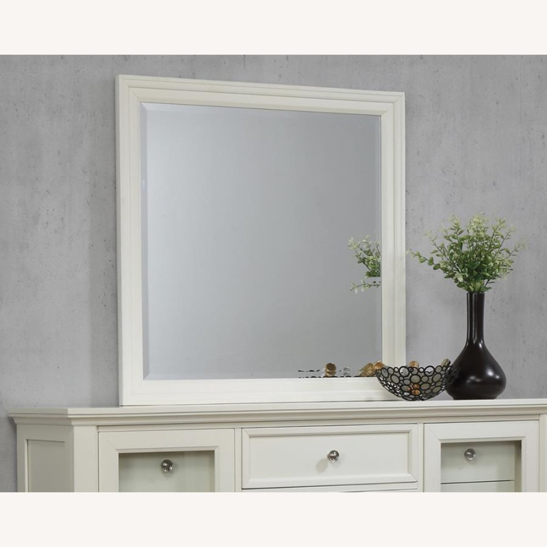 Mirror In White Poplar Veneer Frame Finish - image-3