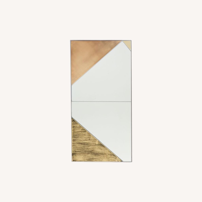 West Elm Roar + Rabbit Infinity Mirror, Panel I - image-0