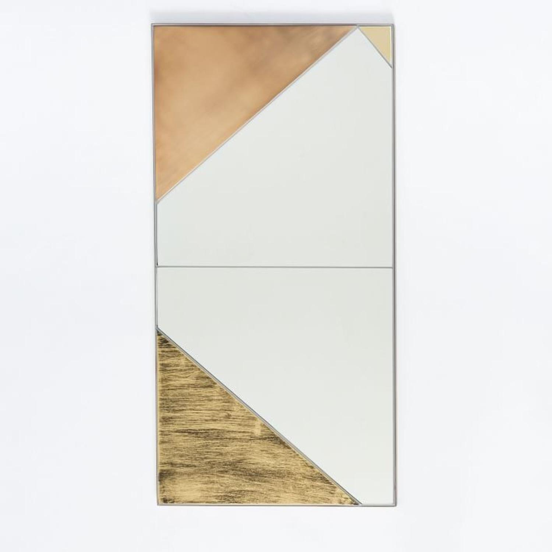 West Elm Roar + Rabbit Infinity Mirror, Panel I - image-1