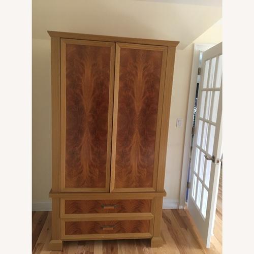 Used Giorgio Italian Furniture armoire for sale on AptDeco